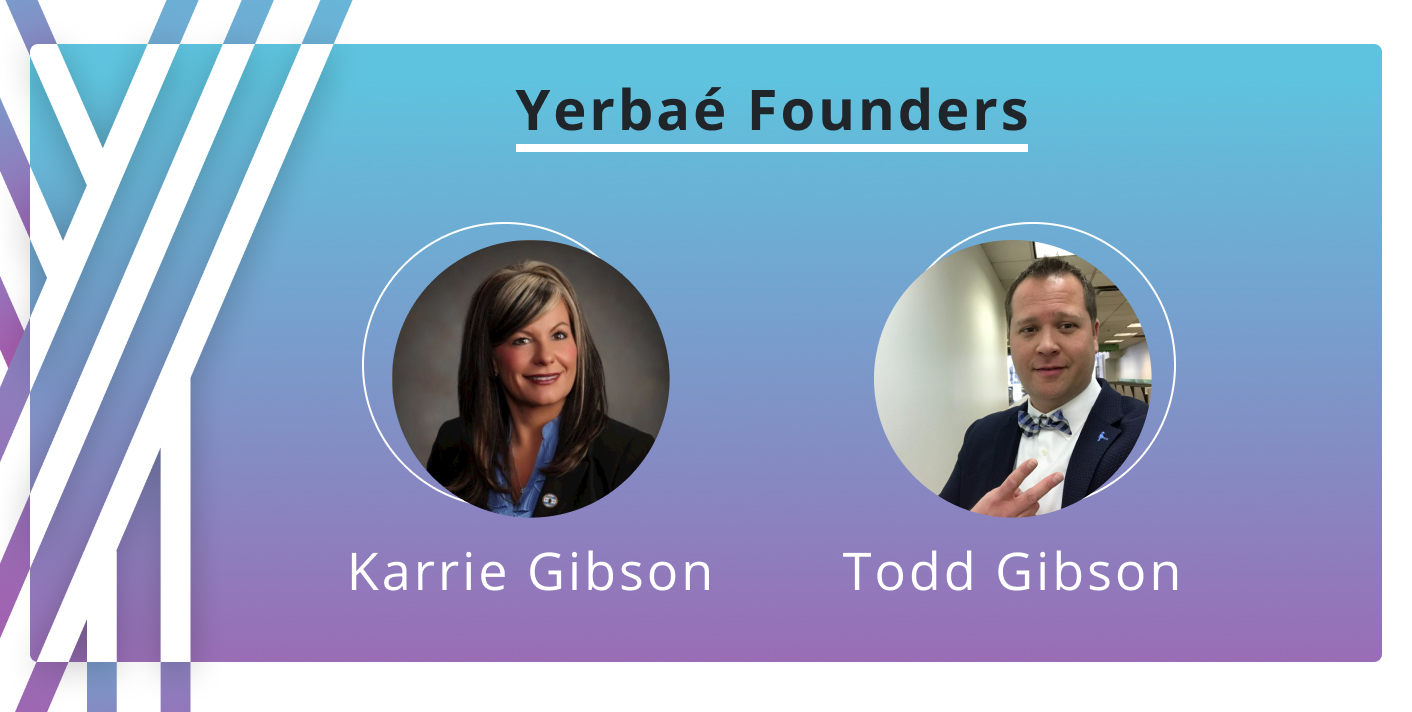 Yerbae Founders Karrie and Todd Gibson