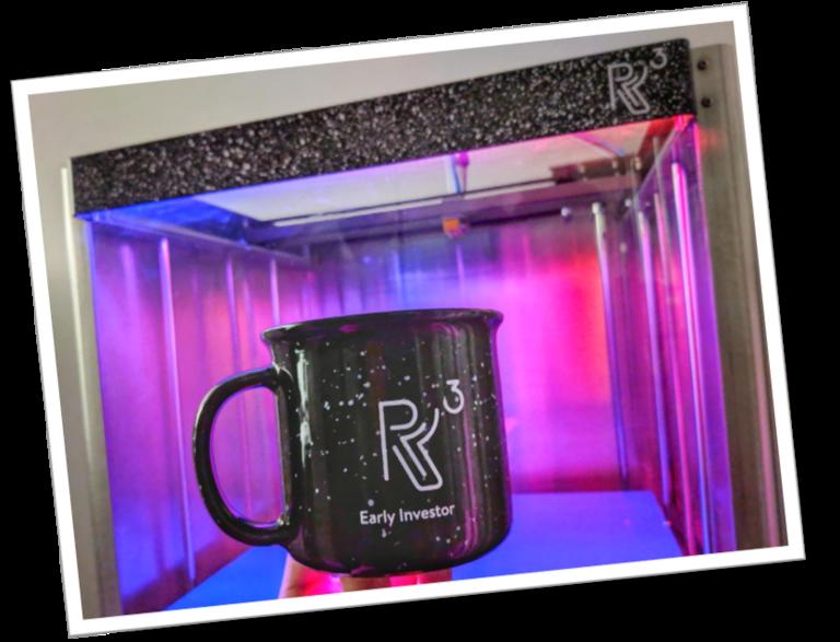 R3 Printing Galaxy Mug + R3 Printer 💜