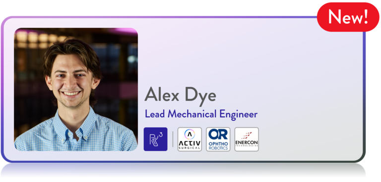 R3 Printing Team Profile: Alex Dye
