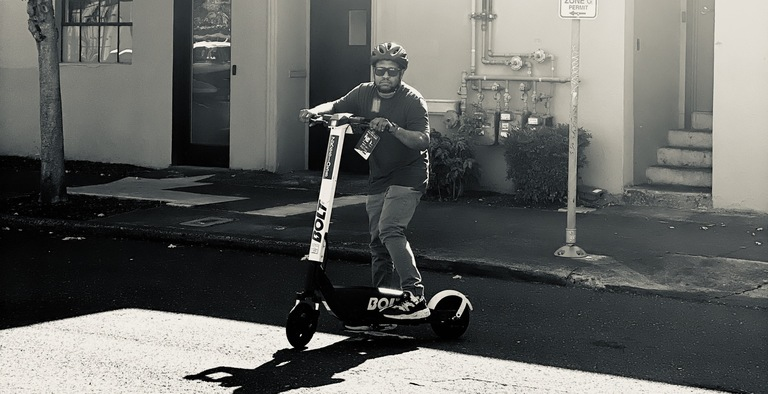 Tim is bringing Portland customers a new kind of micro mobility solution