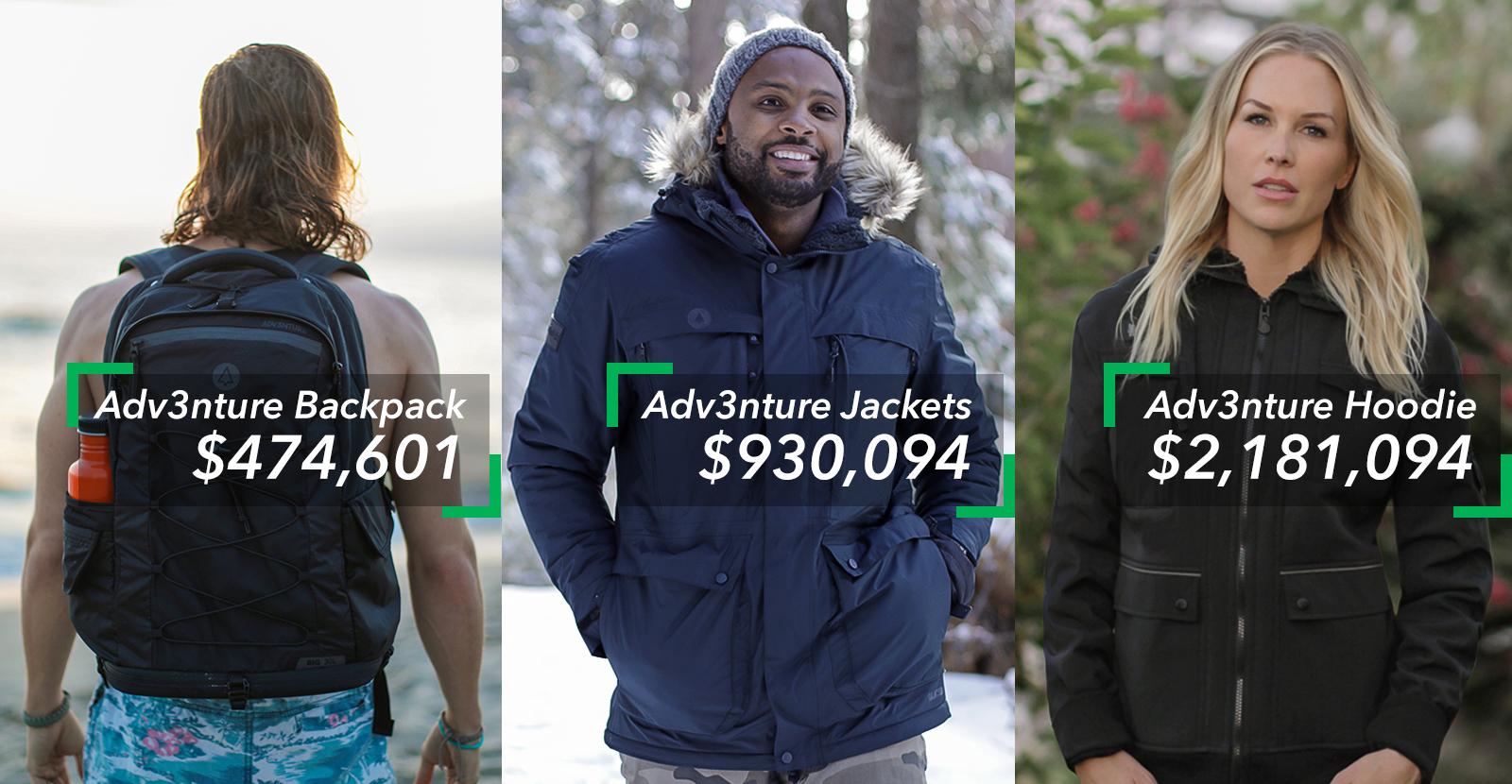 adv3nture clothing adventure clothing company